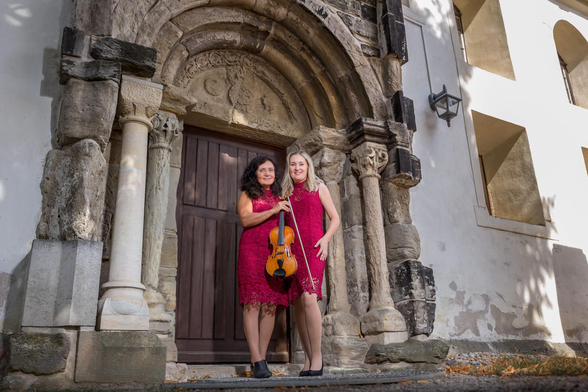 Kirchenkonzert mit Duo Bella Musik